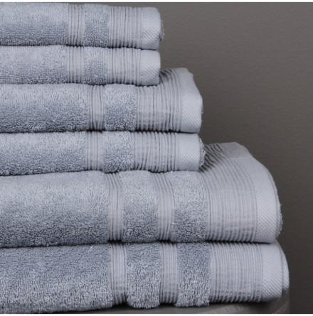 Ezra handduk antikblå - Exklusiv & ljuvlig