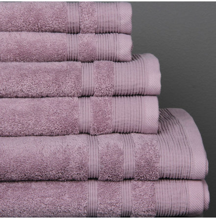 Ezra handduk lavendel - Exklusiv & ljuvlig
