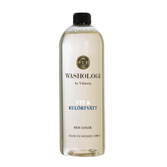 Tvättmedel vit och kulör - Washologi