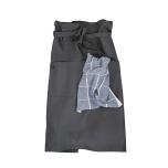 Midjeförkläde i lin, 80 cm