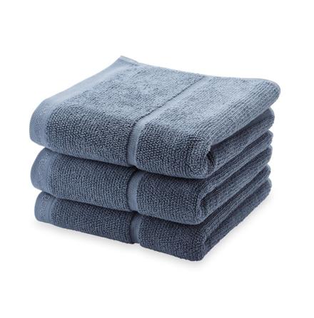 Adagio handduk - Stålblå