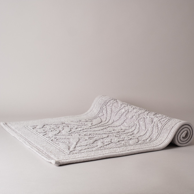 Matiss badrumsmatta - silver