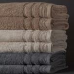 Ezra handduk sand - Exklusiv & ljuvlig