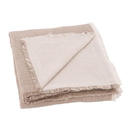 Lilo bomullspläd - sandfärgad