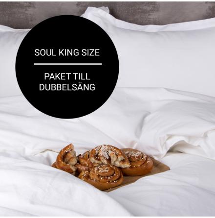 Soul King size (lakan, påslakan, örngott)